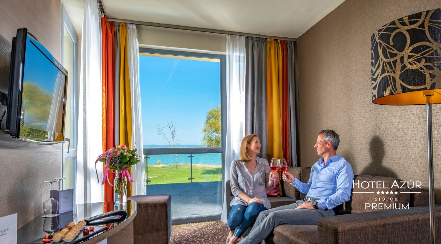 Hotel Azúr Premium, room, hotel, Hungary