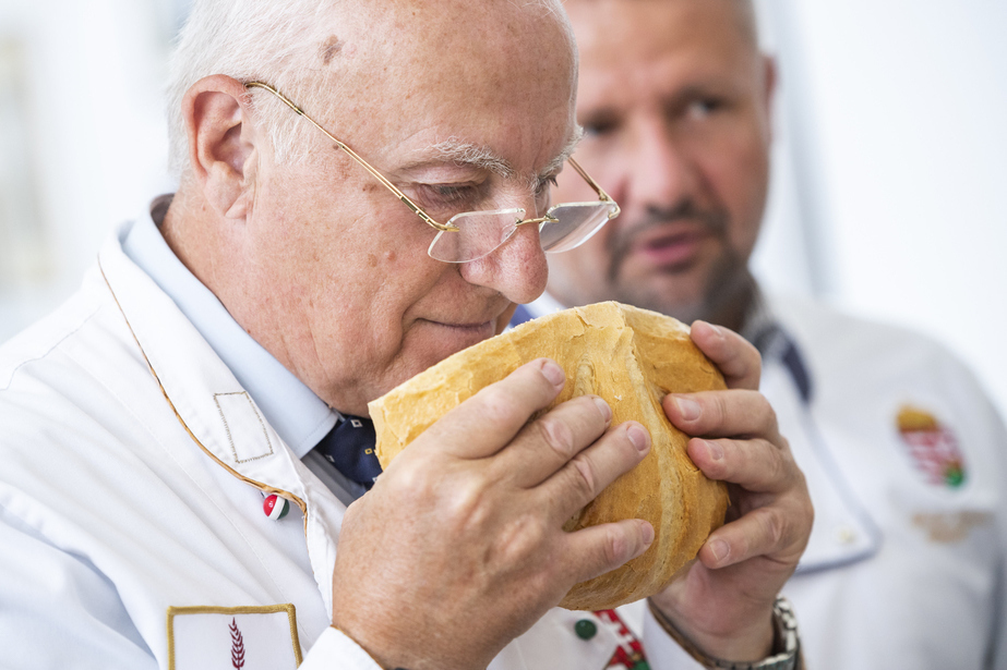 Hungarian Bread Competition Judge