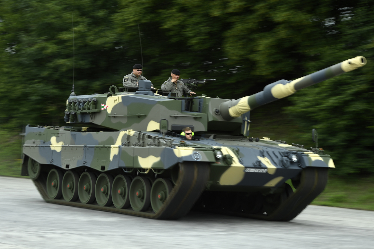 Hungarian Defence Forces New Leopard Tank