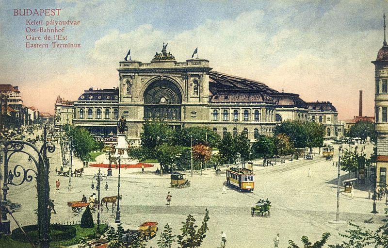 Hungary-Budapest-Keleti Pályaudvar-postcard