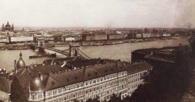 Hungary-Budapest-Széchenyi Chain Bridge