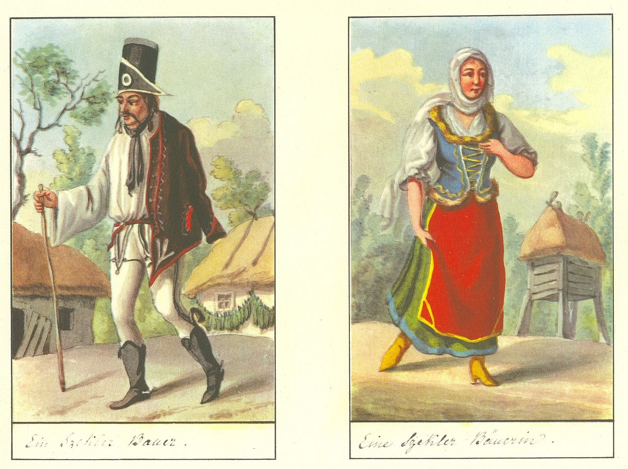 Hongrie, Székler, folk