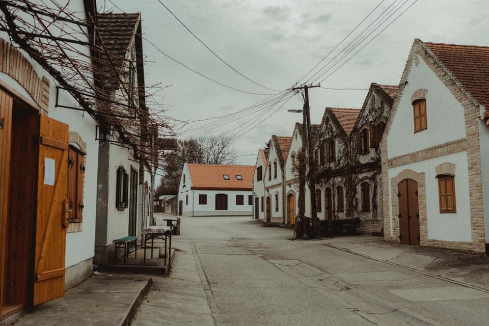 Hungary, wine cellars, Hajós