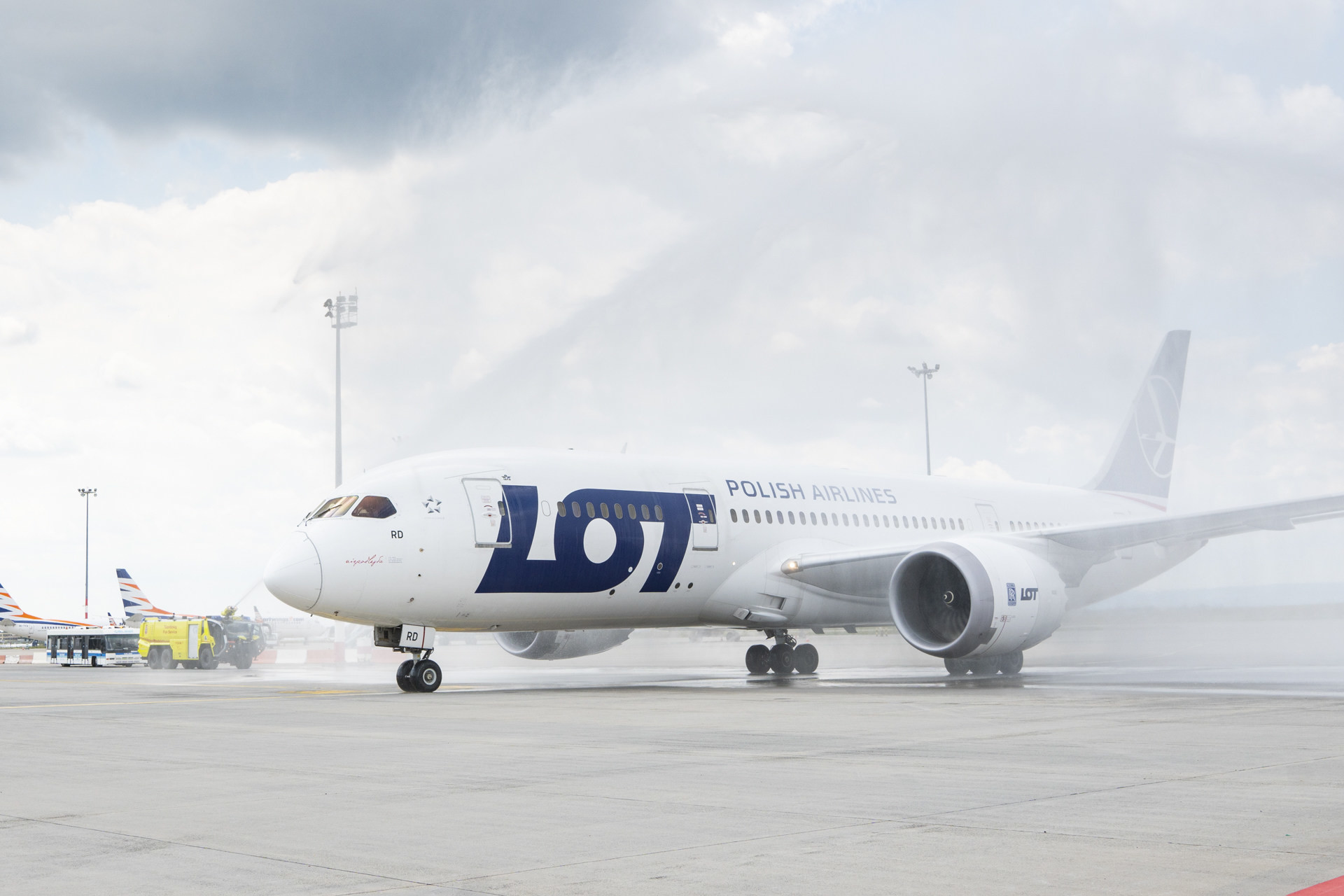 LOT Polish Airlines' Budapest-Seoul non-stop flight re-launched (Photo Budapest AirportBaranyi Róbert)