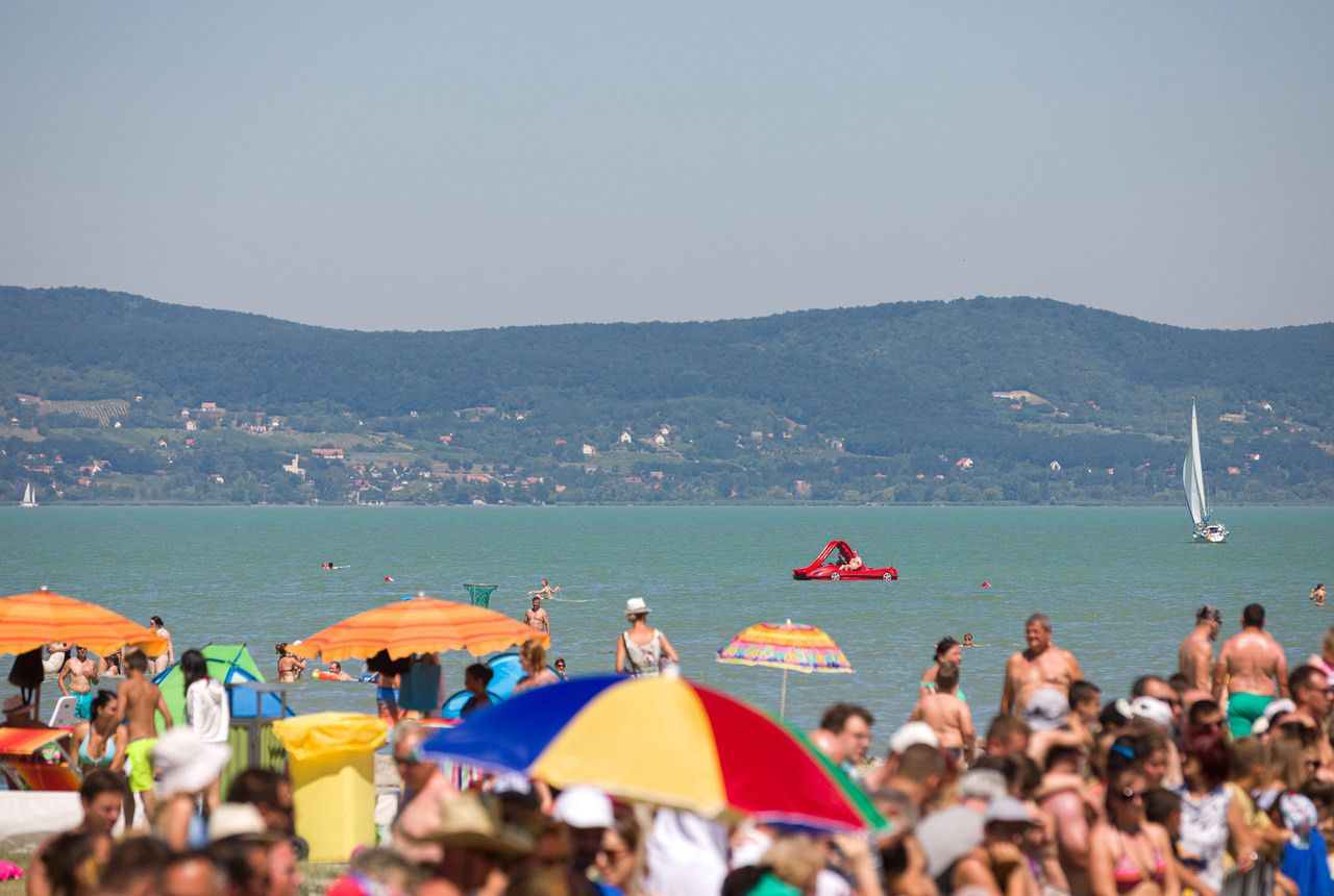 Lake-Balaton-strand