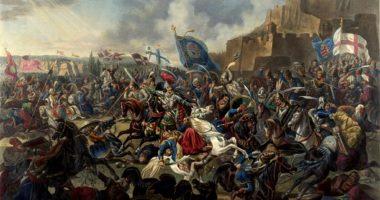 Nándorfehérvári Csata Battle Festmény Painting