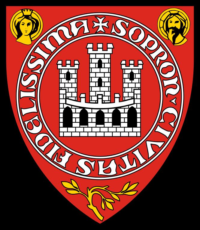 Sopron Civitas Fidelissima Coat of Arms Címer
