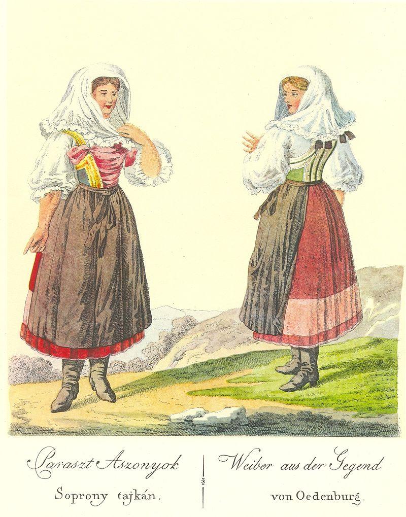 Sopron, folk, Hongrie