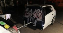 Star Wars car, police, Hungary
