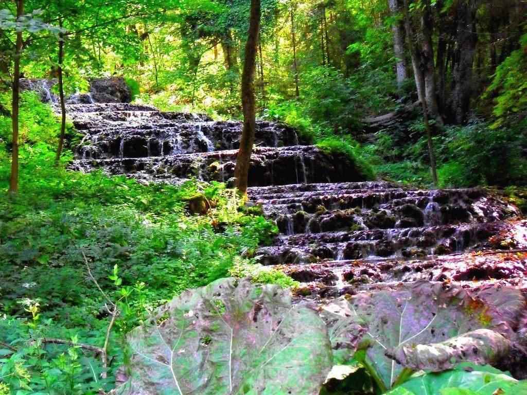 Szalajka Valley Veil Waterfall