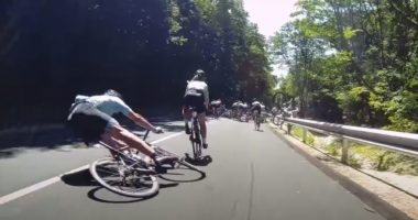 bicycle accident hungary
