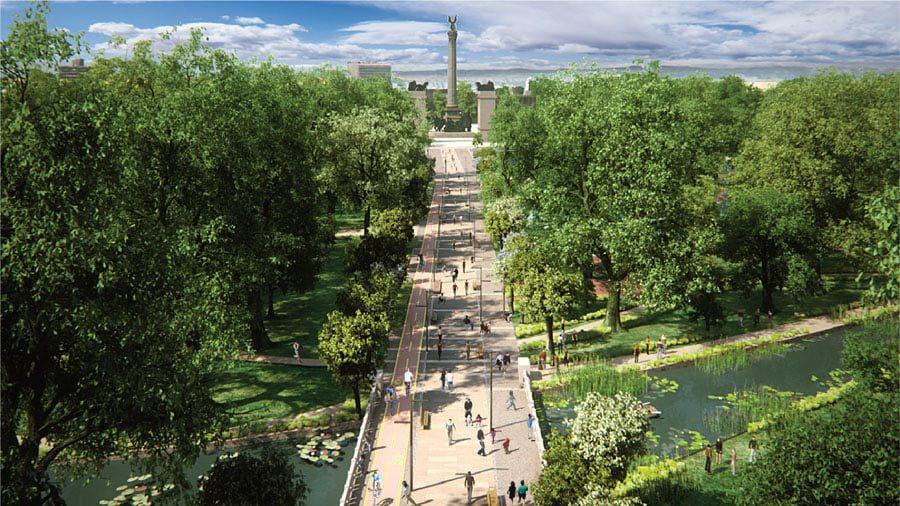parc de la ville budapest liget