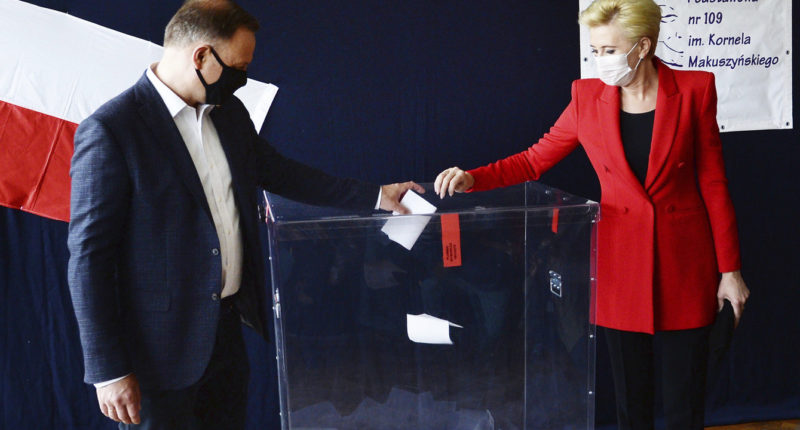 andrzej duda votes