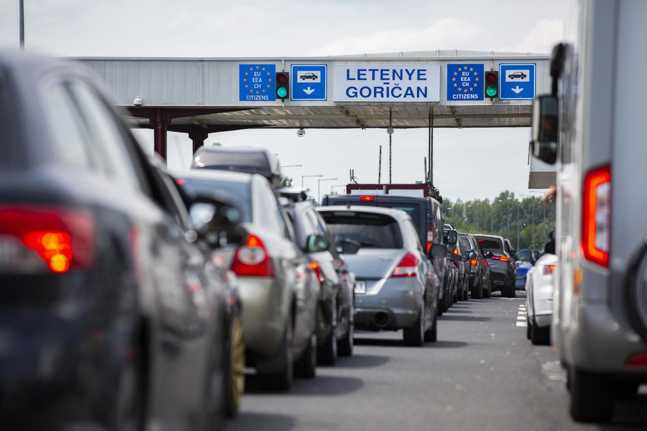 hungary slovenia border