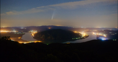 meteor shower danube bend