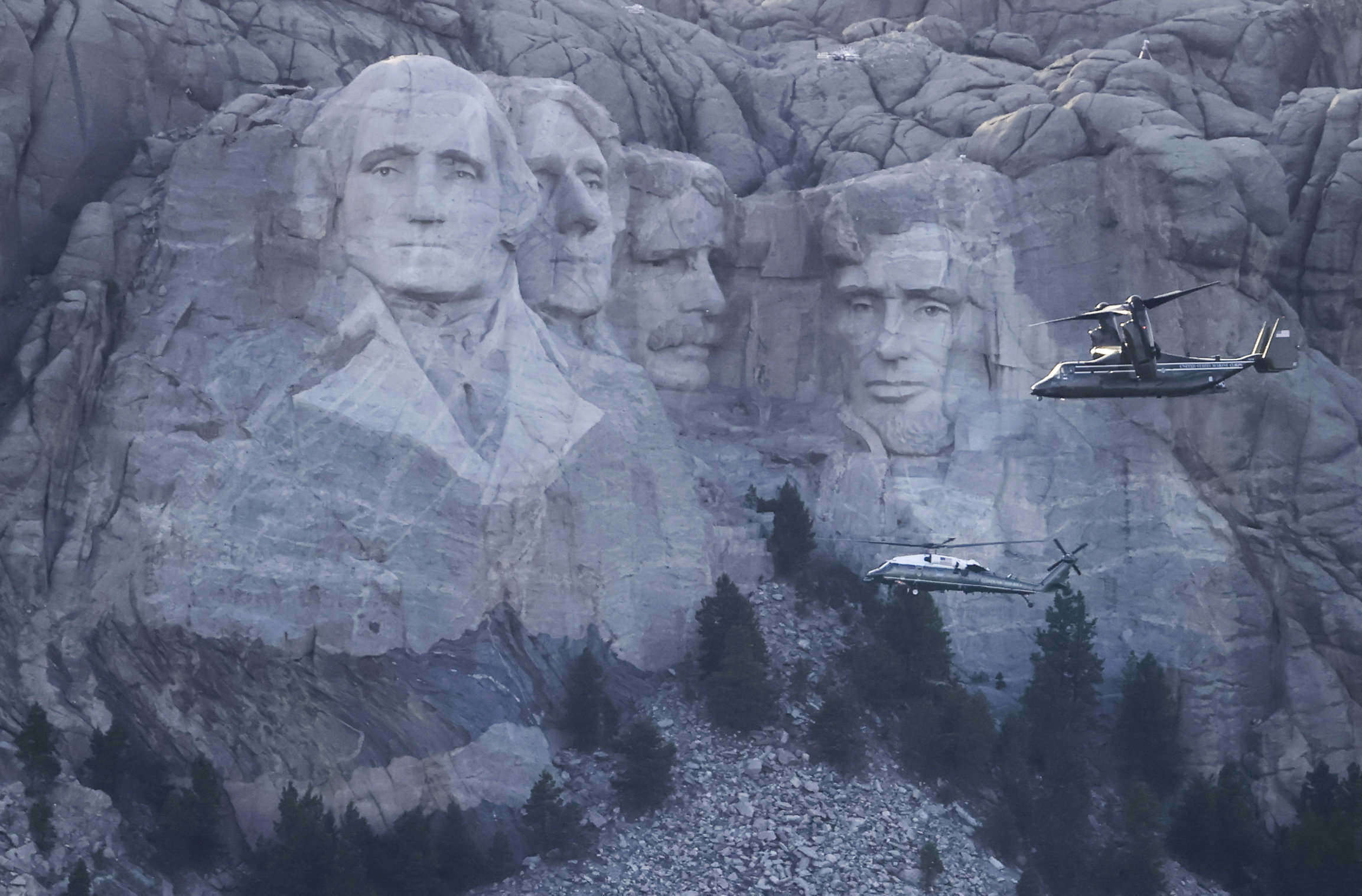 mount rushmore trump