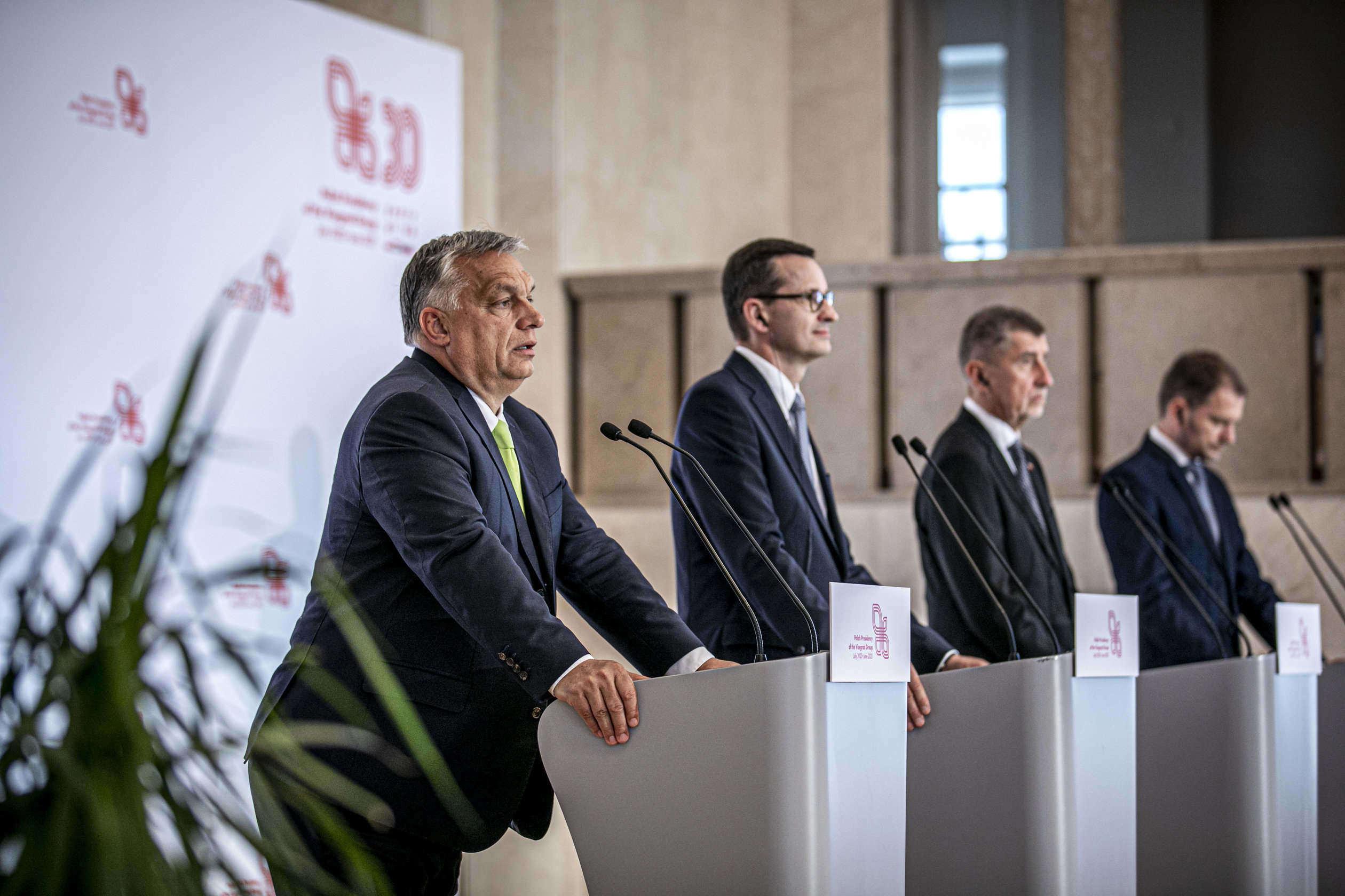 orbán v4 meeting