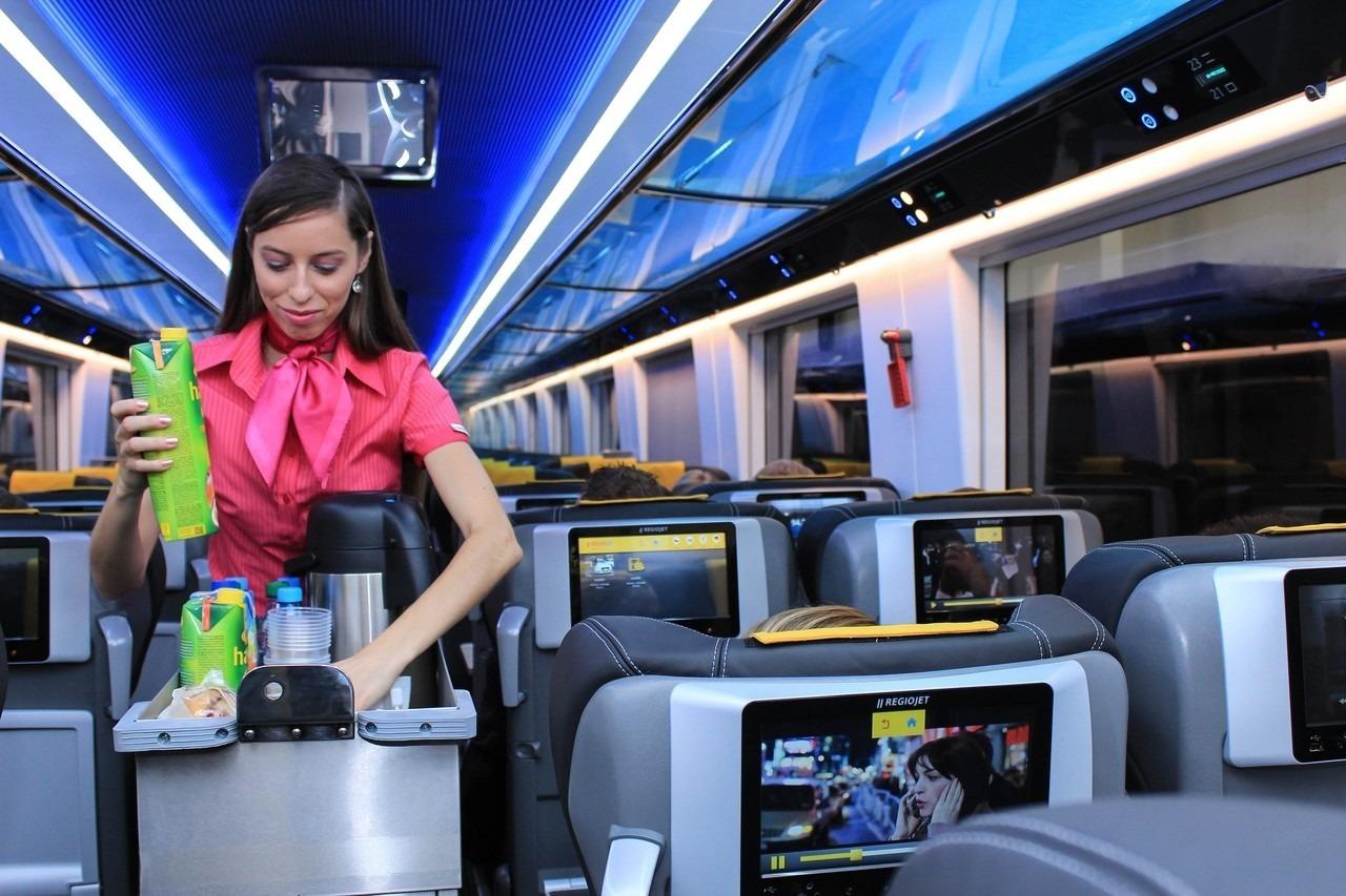 regiojet railway service