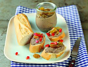 Chicken liver cream with Tokaj Aszú