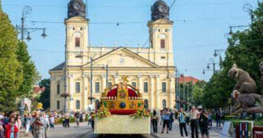 51st Debrecen Flower Carnival, Hungary, Debrecen