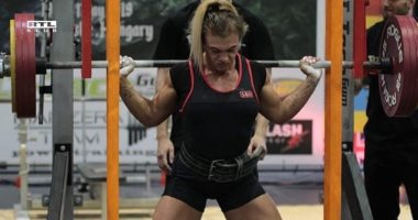 Alexandra Soós-Hungarian-powerlifter-world champion-sport