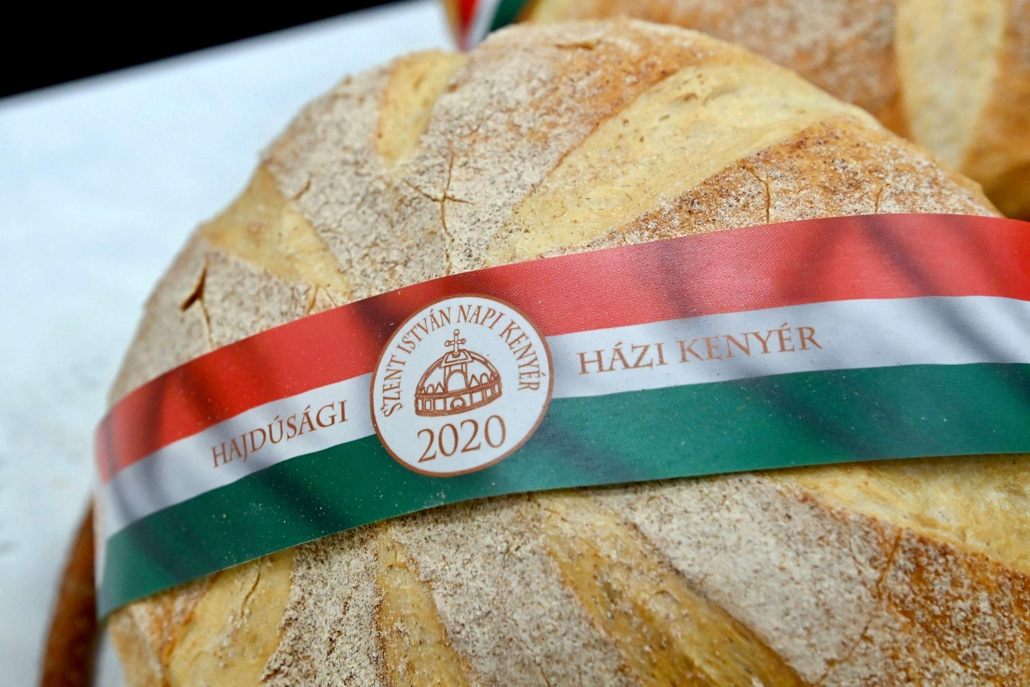 August 20, bread, Hungary