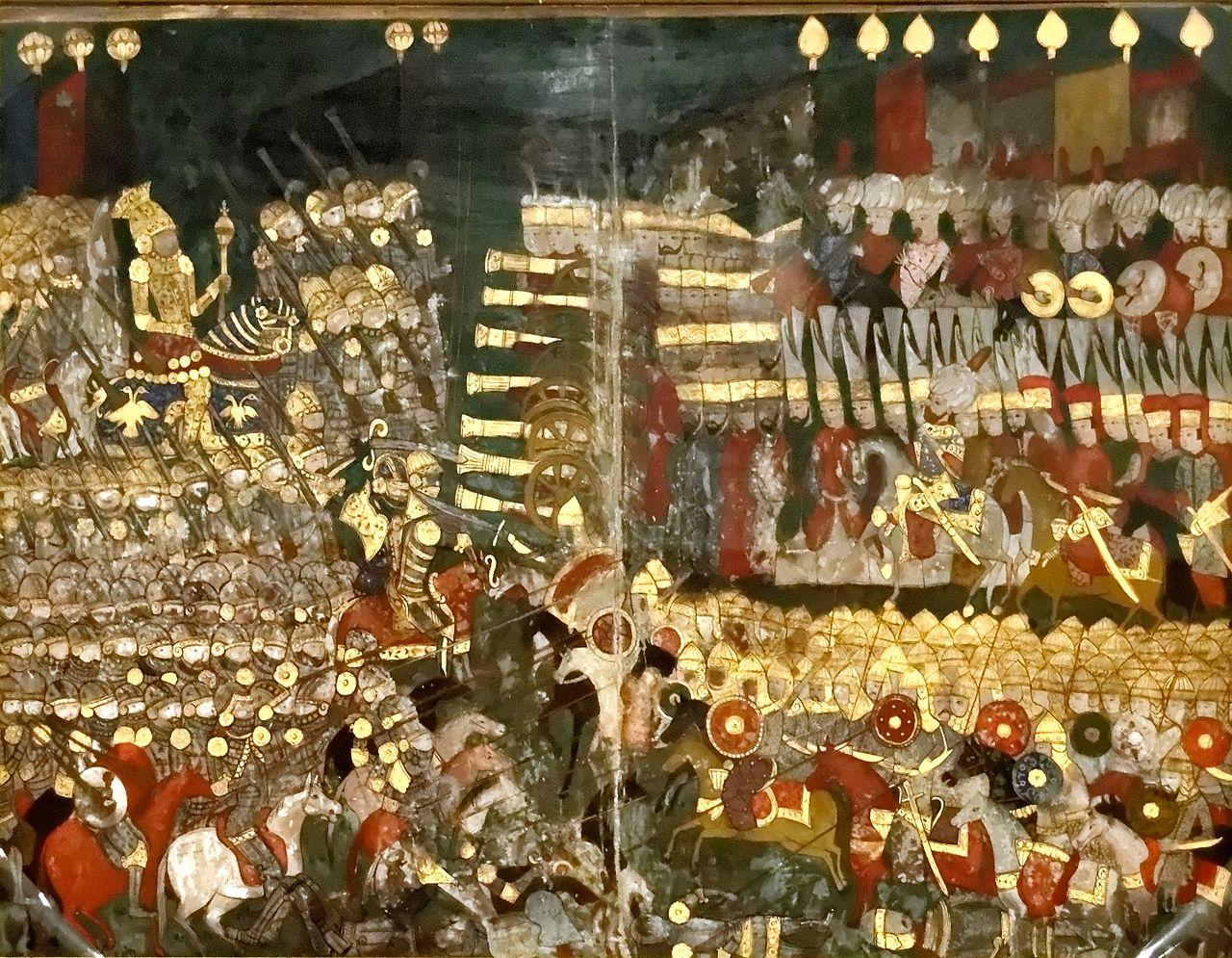 Battle of Mohács Turkish miniature