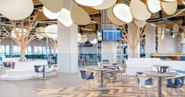 Budapest Airport passenger pier opens