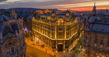 Budapest, Hungary, Parisian Court