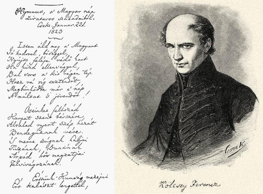 Ferenc Kölcsey-Hungarian poet-literature