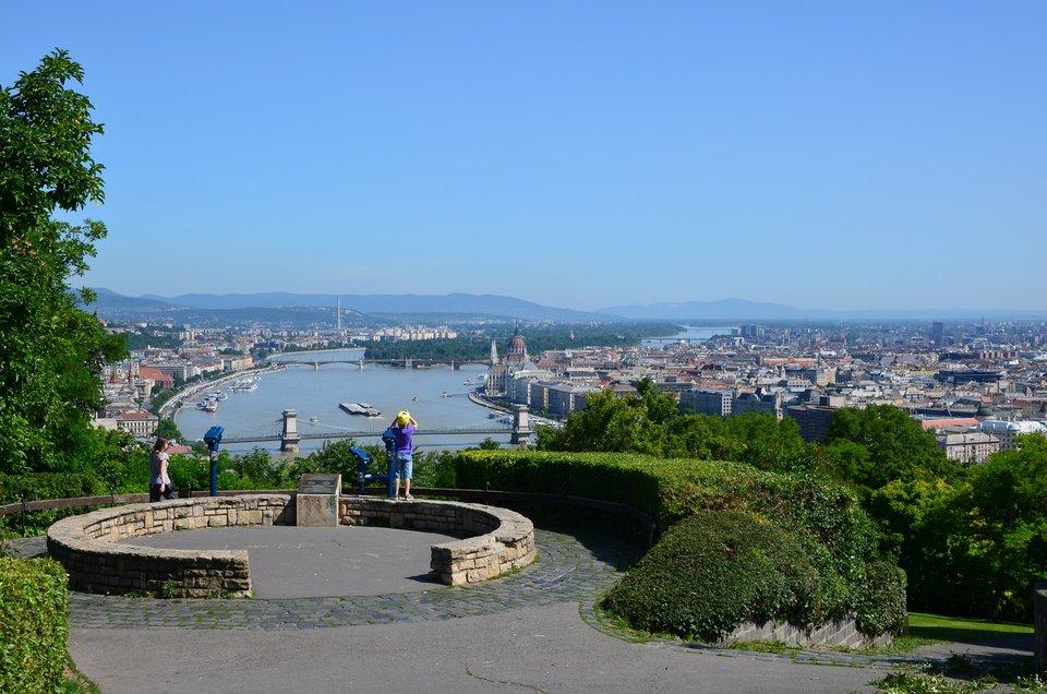 Panorama de la colline Gellért