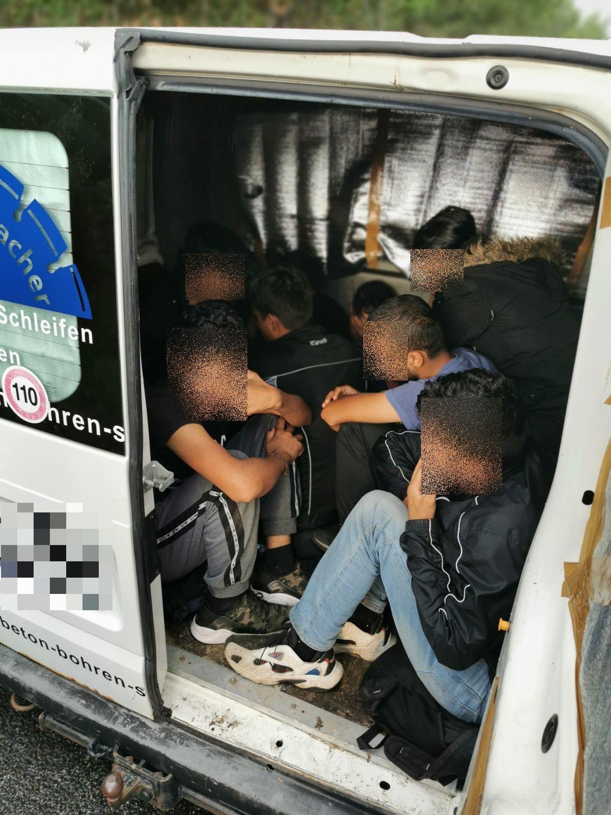 Hungary Romania Austria migrant