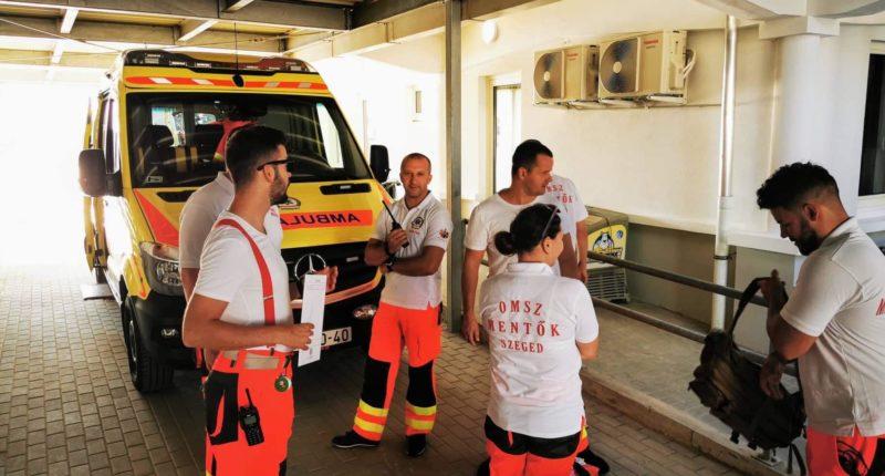 Hungary ambulance crime