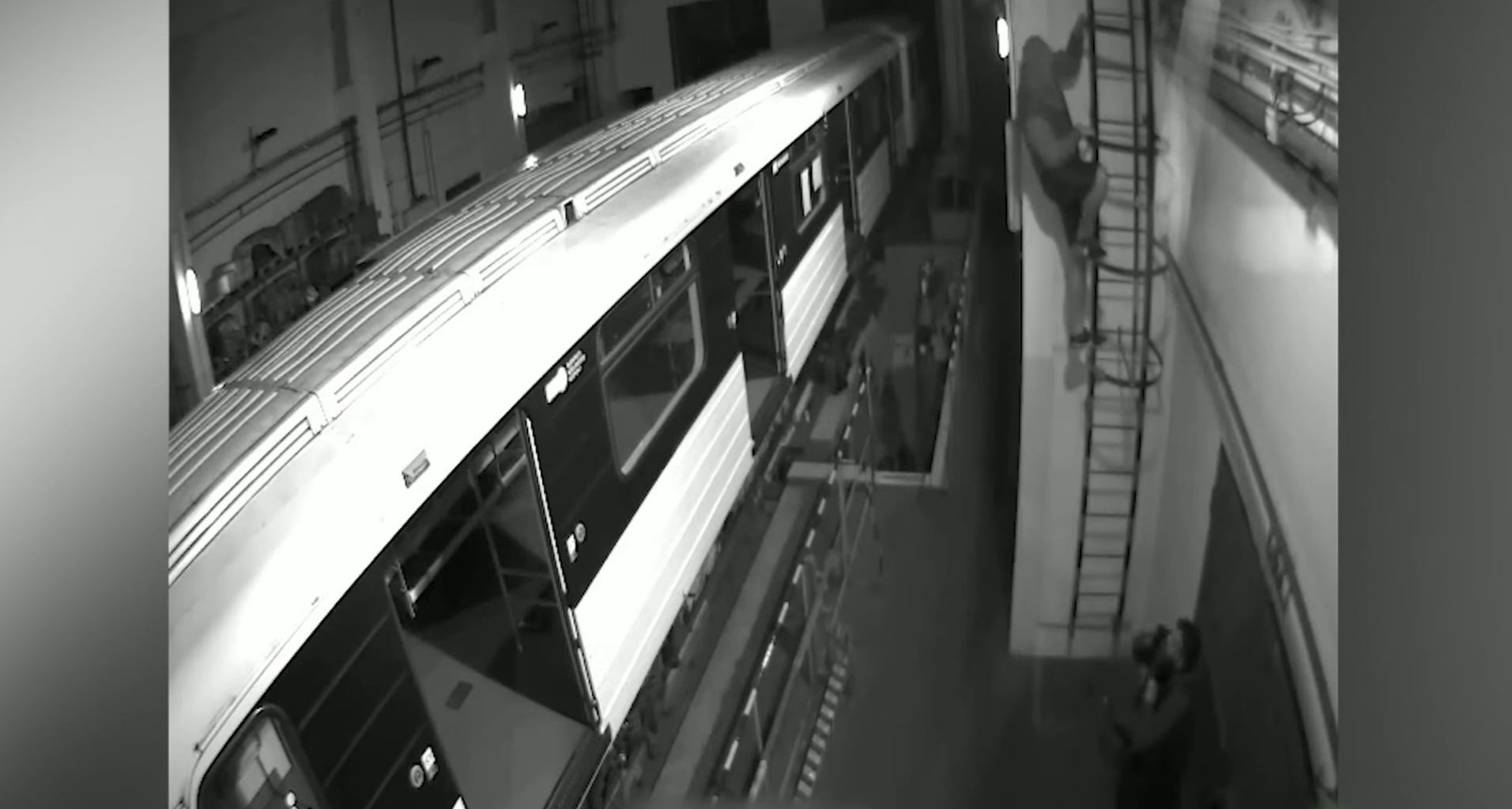 Metro Car Vandalism