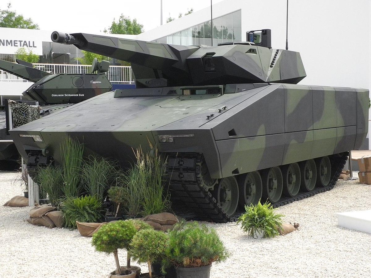 Rheinmetall Lynx combat vehicle-military