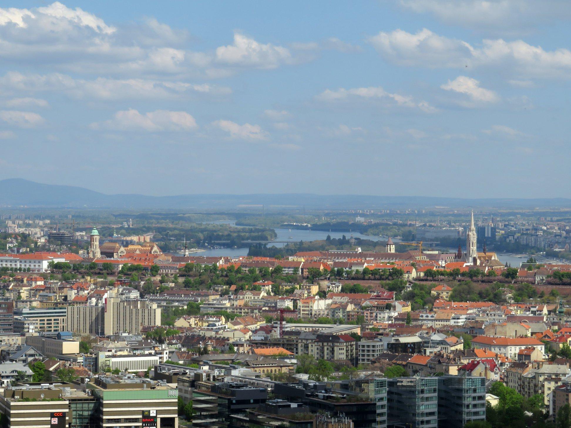 Panorama de Sas Hill