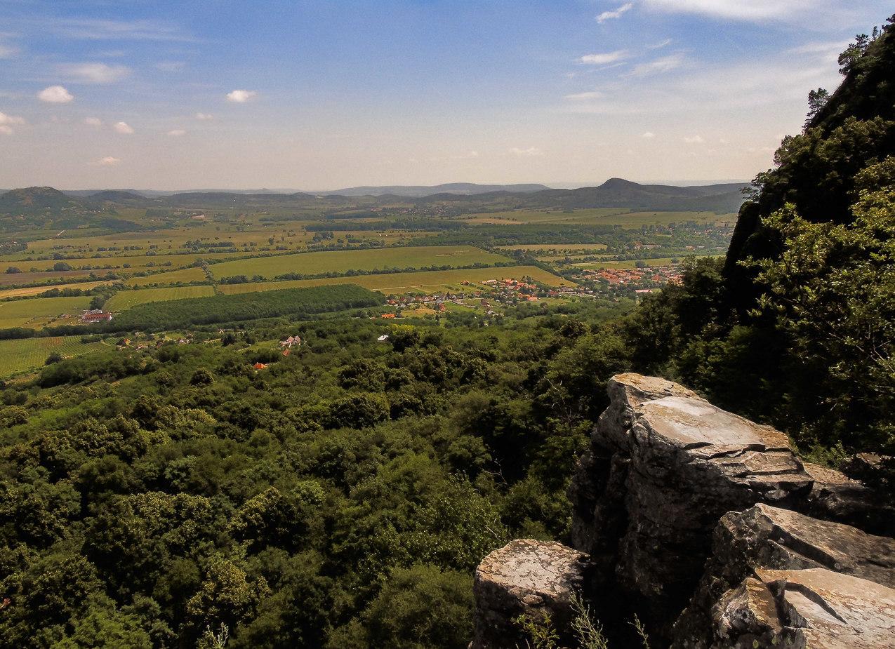 Szent György-hegy Vue sur la colline de Saint George