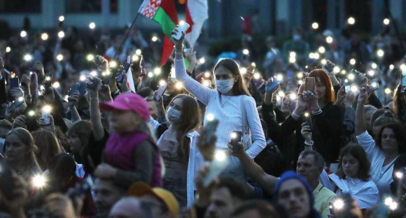 belarus demonstration