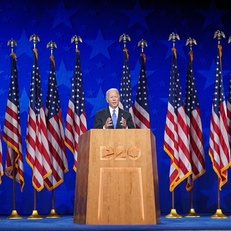 convention démocratique biden
