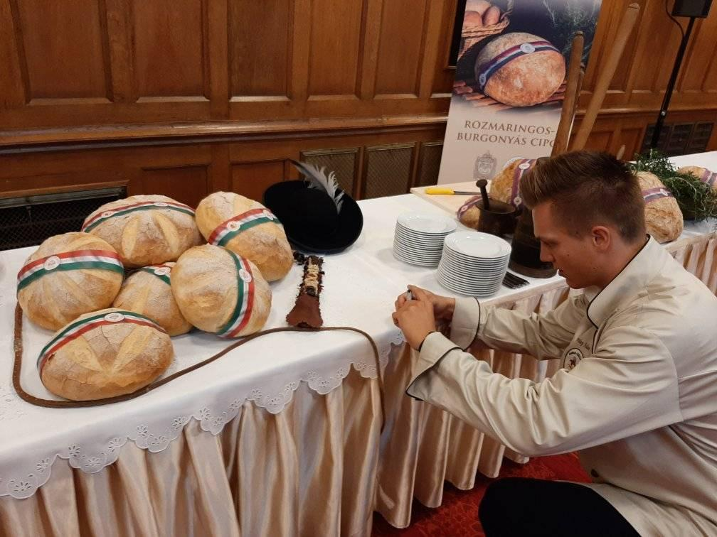 bread, Hungary, August 20