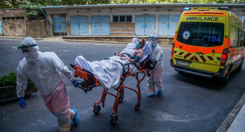 coronavirus-hungary-ambulance-hospital
