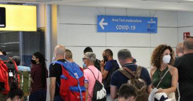 coronavirus italy airport
