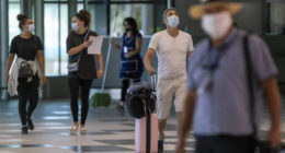 coronavirus split airport