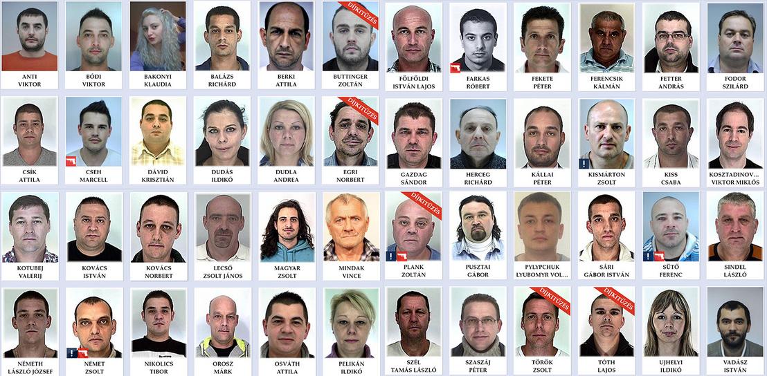 criminal list hungary