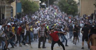 lebanon beirut demonstration