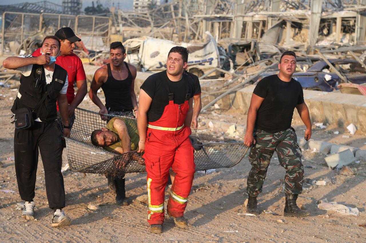 explosion de Beyrouth au Liban