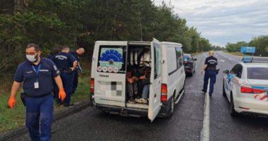 migrant smuggle Hungary Romania Austria