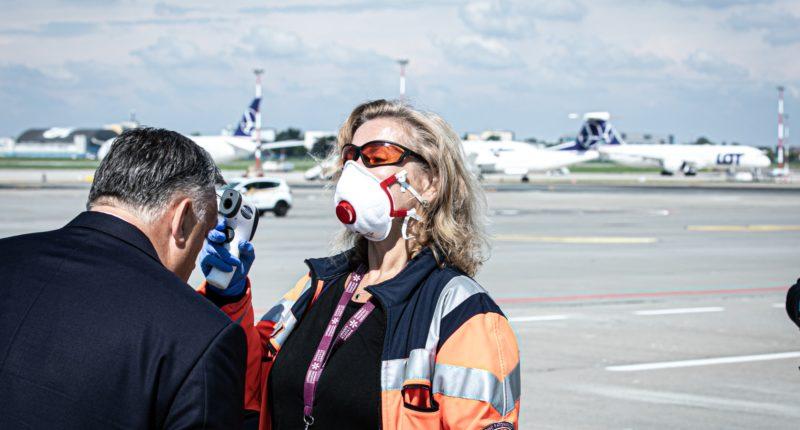orbán test airport