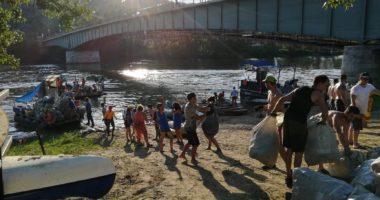 river tisza waste