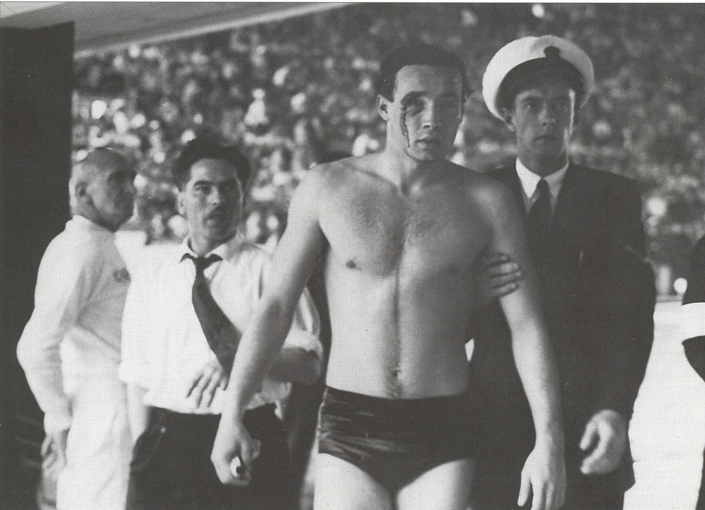 Ervin Zádor Hungarian water polo player 1956